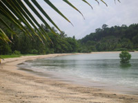 Koh Yao Noi - even in the rainy season the sheltered waters east of Phuket are tranquil