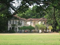 Phra Phitak mansion built by a Chinese tin baron in Sino-Colonial style
