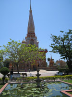 60 meter high pagoda at Wat Chalong