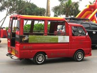 Strictly speaking, Phuket's tuk-tuks are actually songtaews