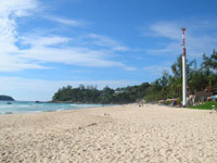 Kata Noi - the tsunami warning sirens are now a feature of every major beach