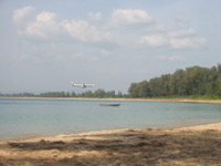 Mai Khao Beach - the planes don't spoil it. Honest !