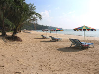 Nai Thon Beach is often deserted